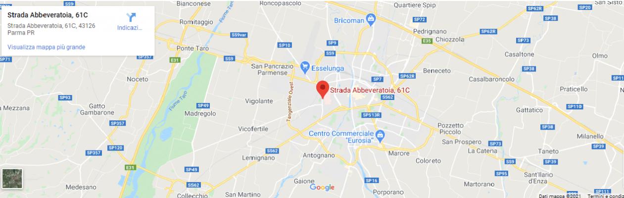 Via Abbeveratoia 61c Parma - Dr. Luca Mazucchelli Fisioterapista